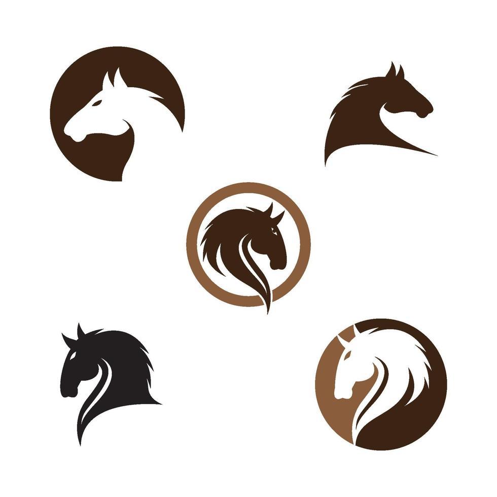 häst logotyp bilder illustration vektor