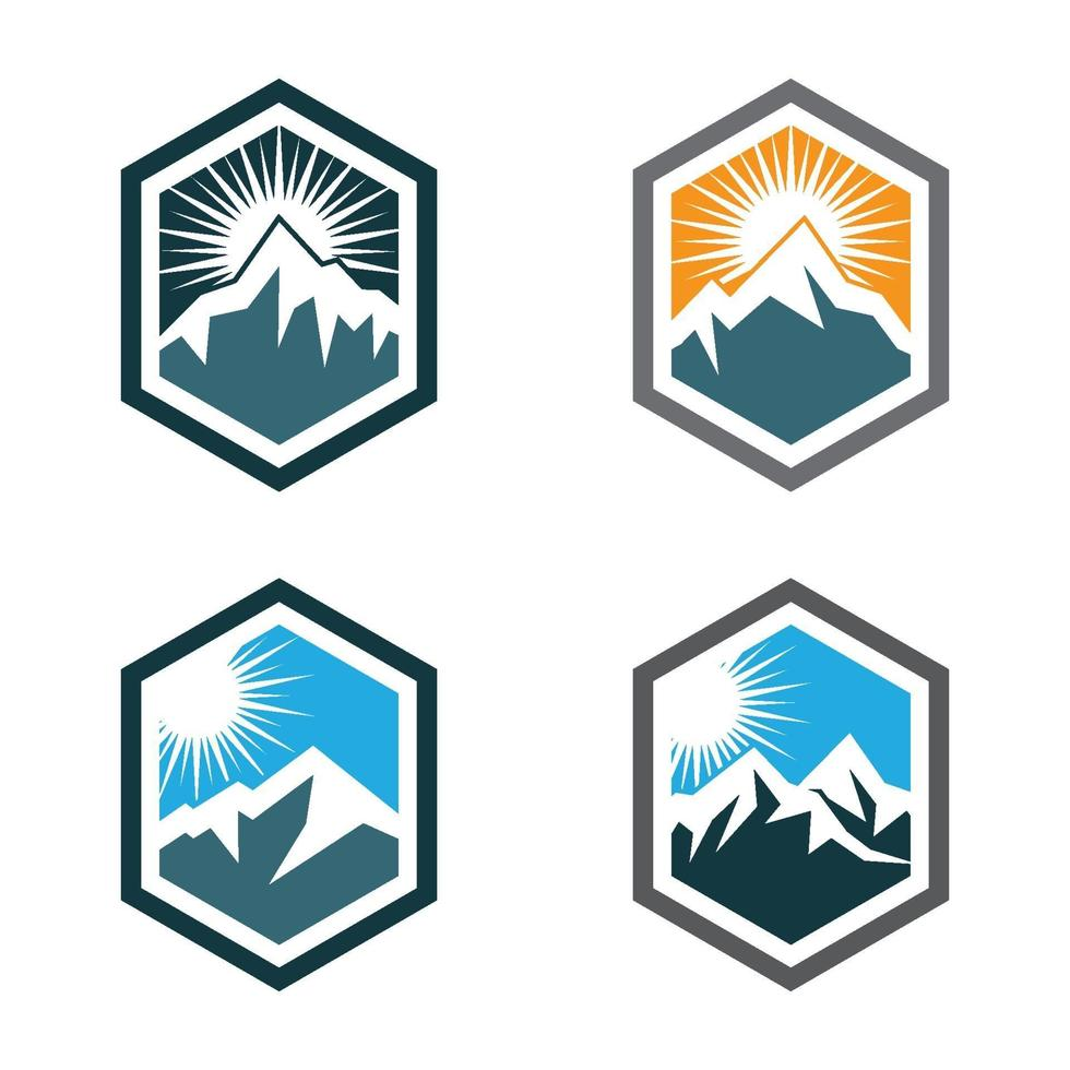 Berg Logo Bilder vektor