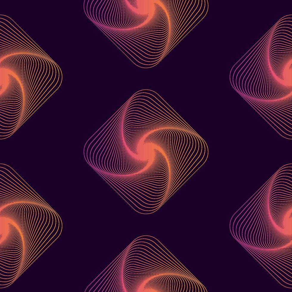 geometrische Grafik des nahtlosen Hintergrundmusters. Vektor veranschaulichen.