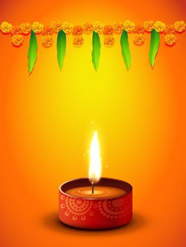 Diwali-Gruß-Design vektor