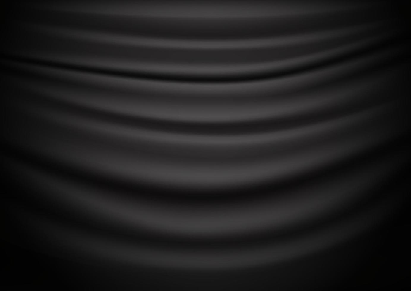 abstrakter Vektorhintergrund des schwarzen Vorhangs vektor