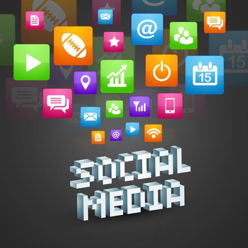 Social Media Design vektor