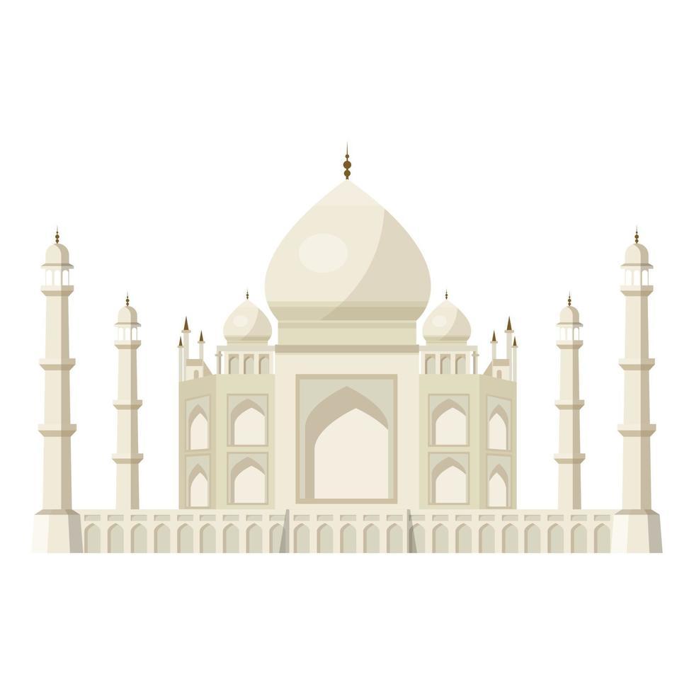 Taj Mahal-palatset vektor