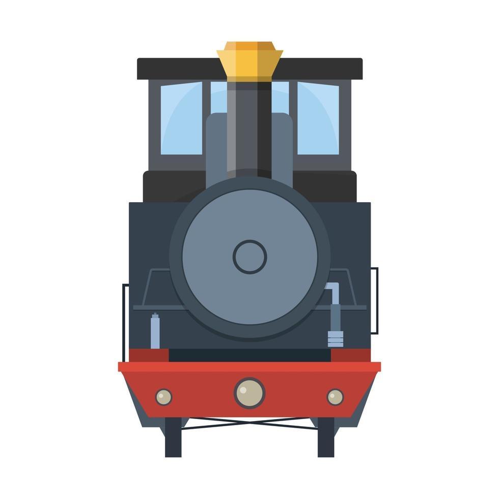 tåg ikon tecknad vektor