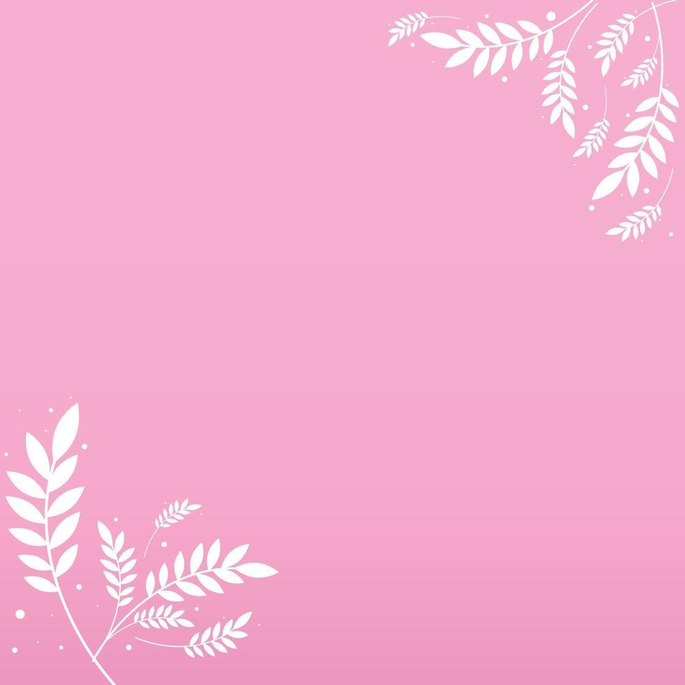abstrakt realistisk bakgrundsmall med blommor - vektor