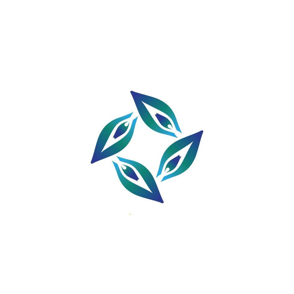 skönhet fjäril logotyp mall vektor ikon design