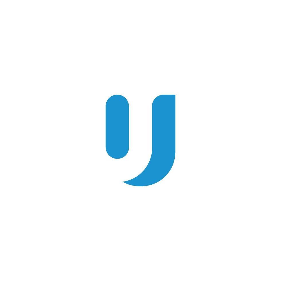 u brev logotyp affärsmall vektor ikon