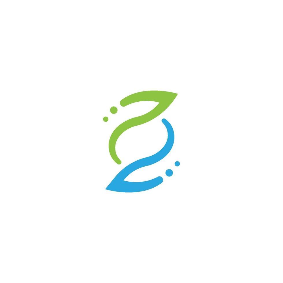 s brev logotyp, volym ikon design mall element vektor