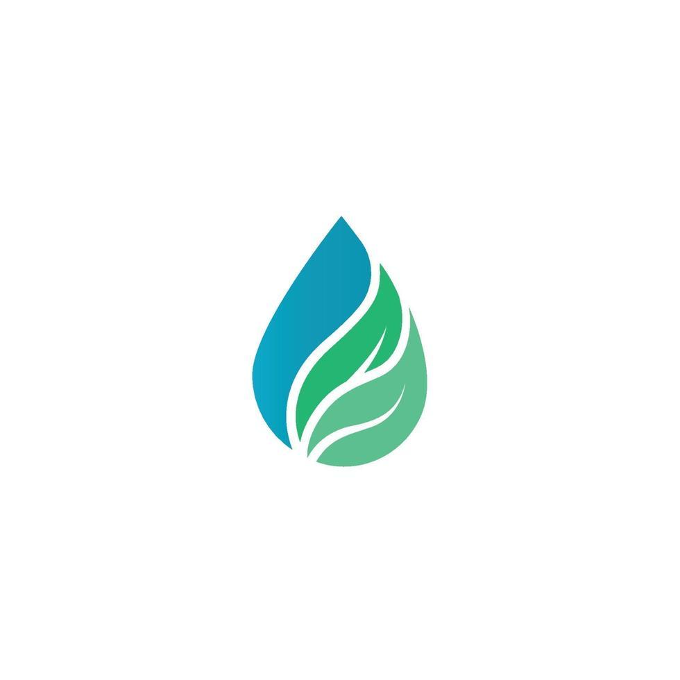 vatten droppe logotyp mall vektor illustration design