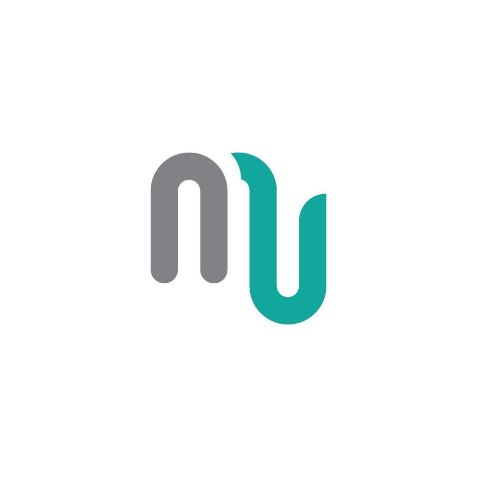 templat desain logotyp m brev. simbol alfabet konsep ikon tipografi kreatif vektor