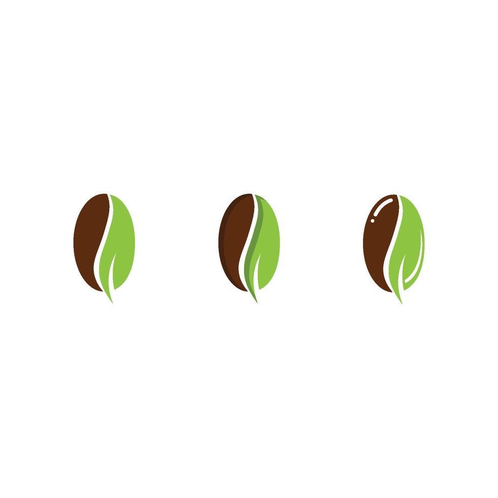 kaffekopp logotyp mall vektor ikon