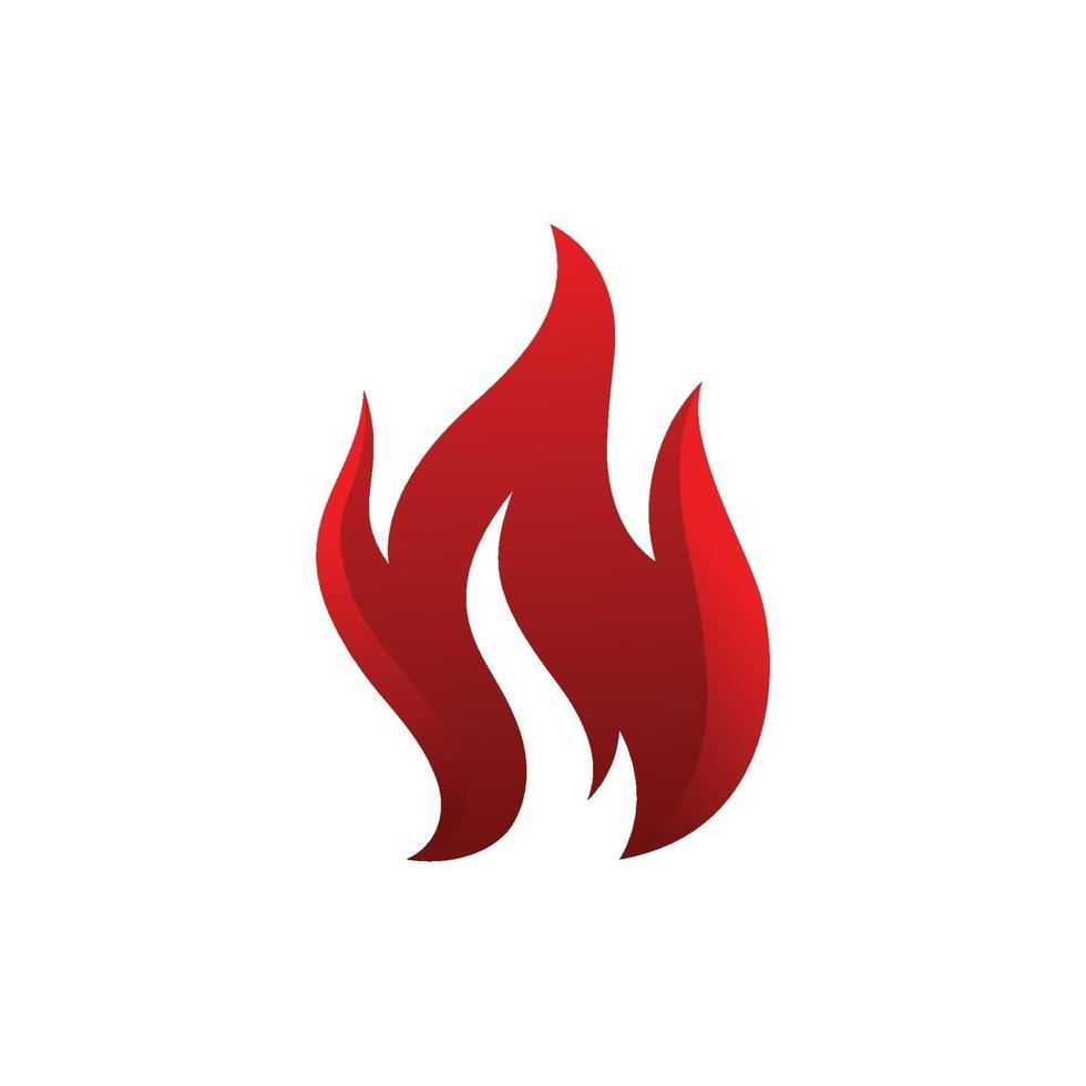 brand flamma logo design vektor mall