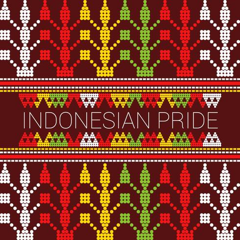 Herausragende indonesische Stolz-Vektoren vektor
