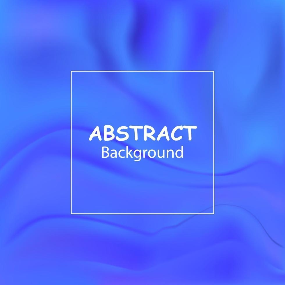 vektor blå flytande färg bakgrundsdesign med släta vågor och ränder. futuristisk lutning.