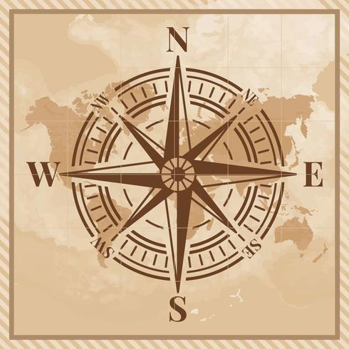 Kompass-Illustration vektor