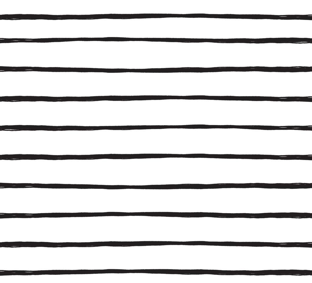 handritad abstrakt mönster med handritade linjer, streck. uppsättning vektor grunge borstar. vågig randig, vektor eps 10 illustration
