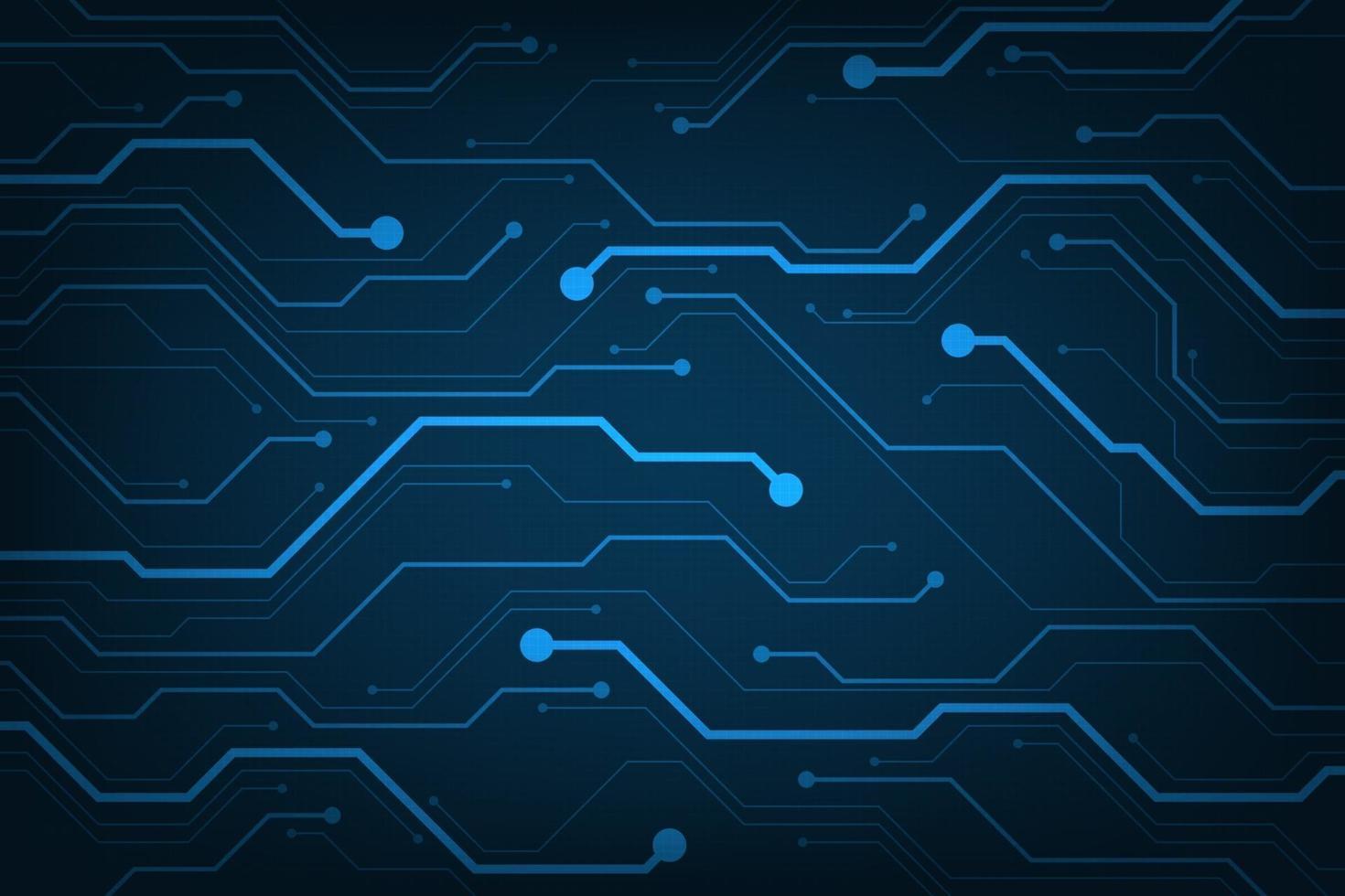 design i konceptet elektroniska kretskort. vektor