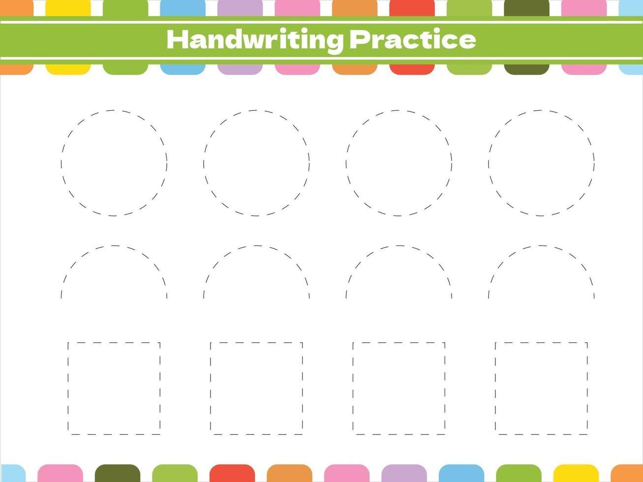 pedagogiska spårningsspel för barn vektor