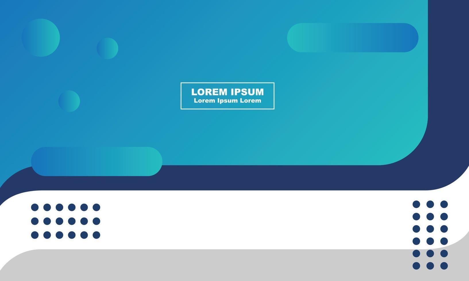 abstrakt bakgrund digital affärsmarknadsföring sociala medier postmall vektor