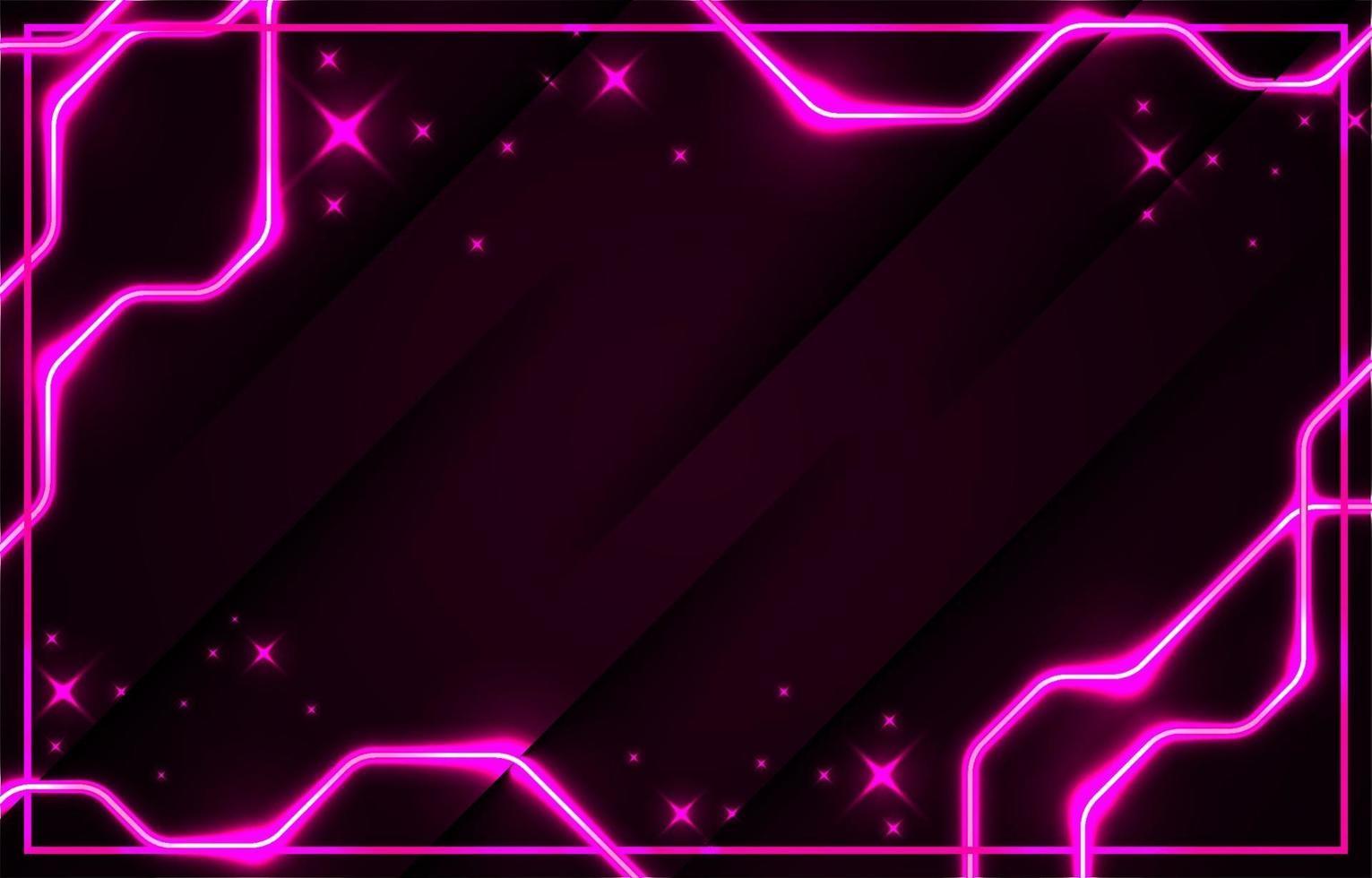 modern realistisk rosa neon bakgrund vektor