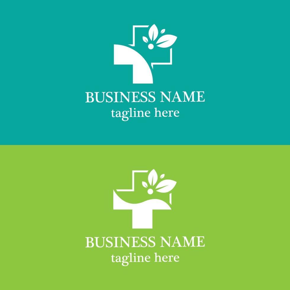 hälso medicinsk logotyp design vektor