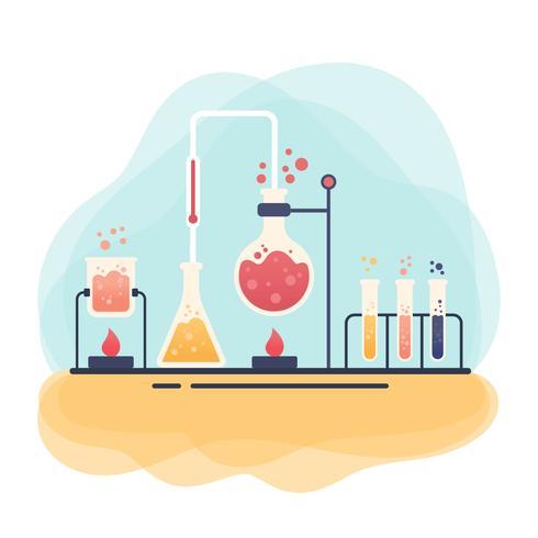 Chemie-Vektor vektor
