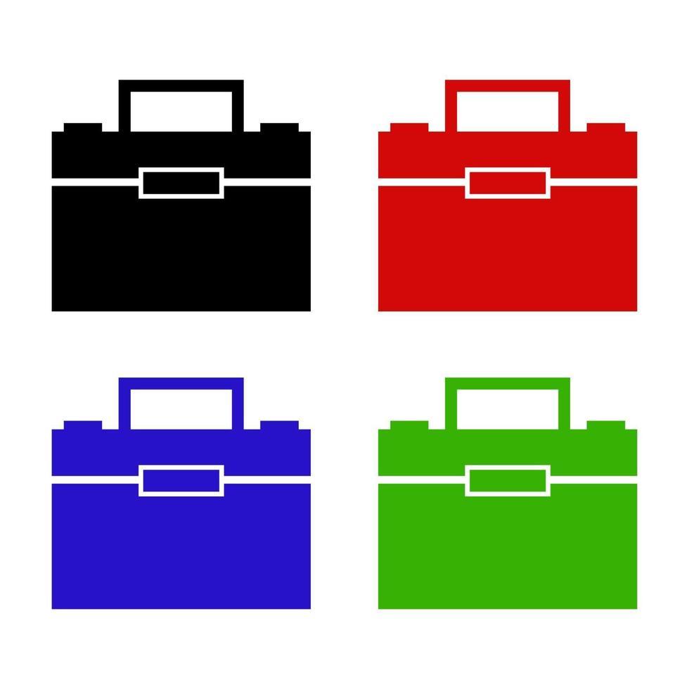 arbetspåse-ikonen på bakgrunden vektor