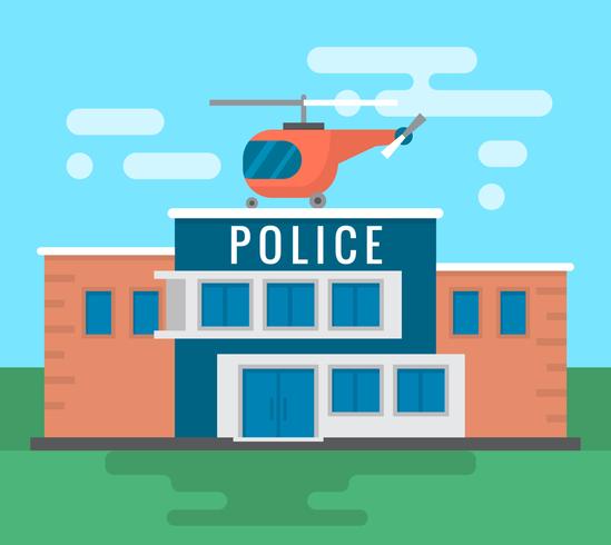 Polizeistation vektor