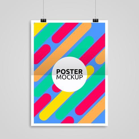 Poster Mockup Vektor