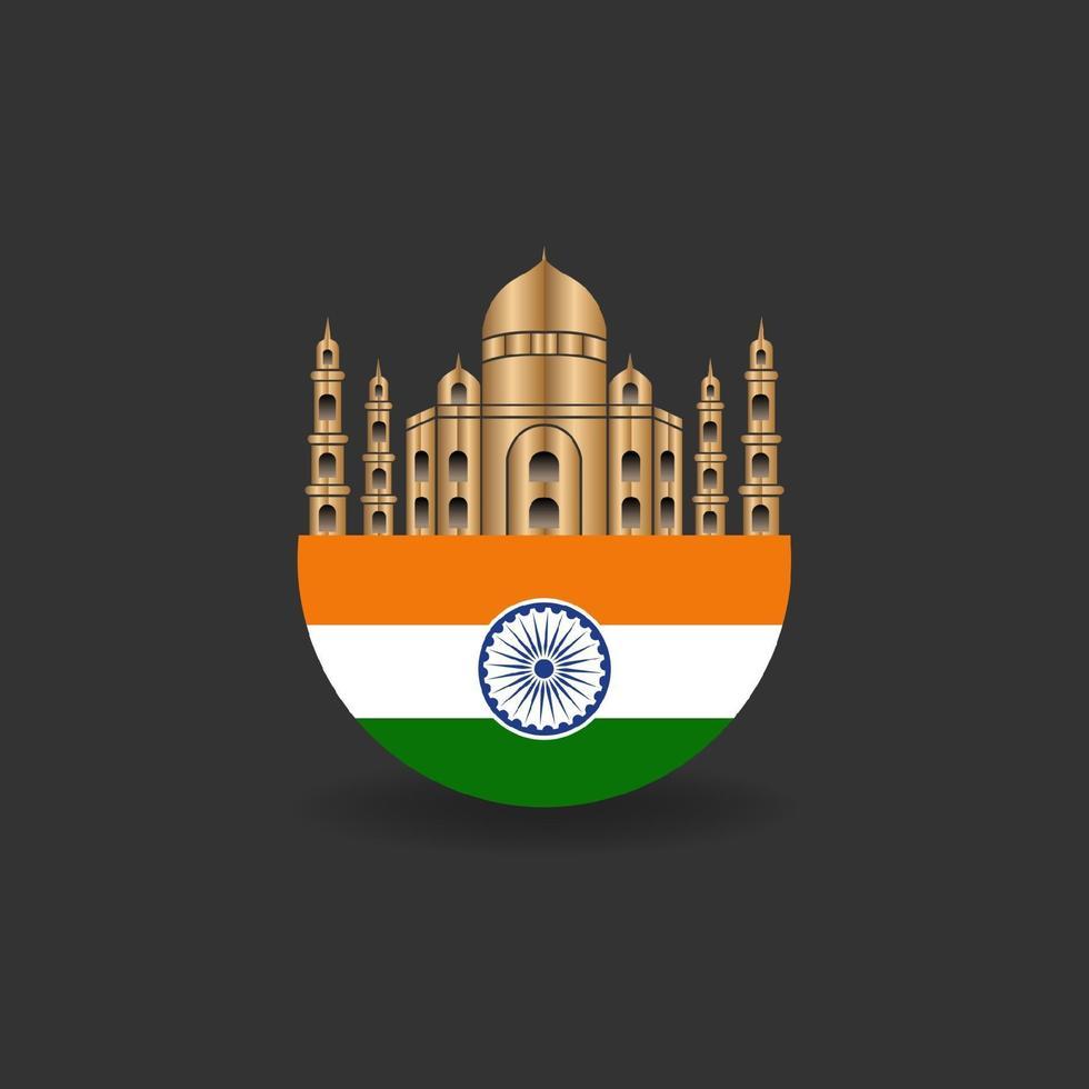 Indien republikens dag vektor