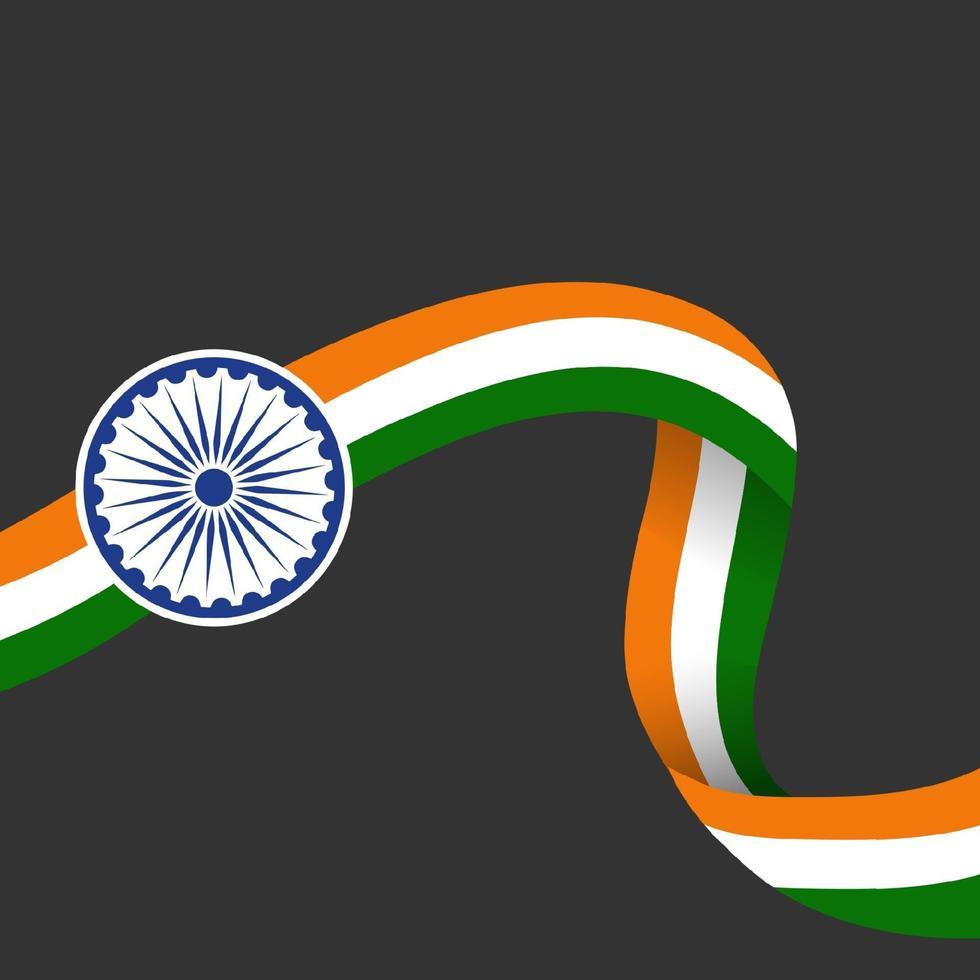 Indien Republik Tag vektor