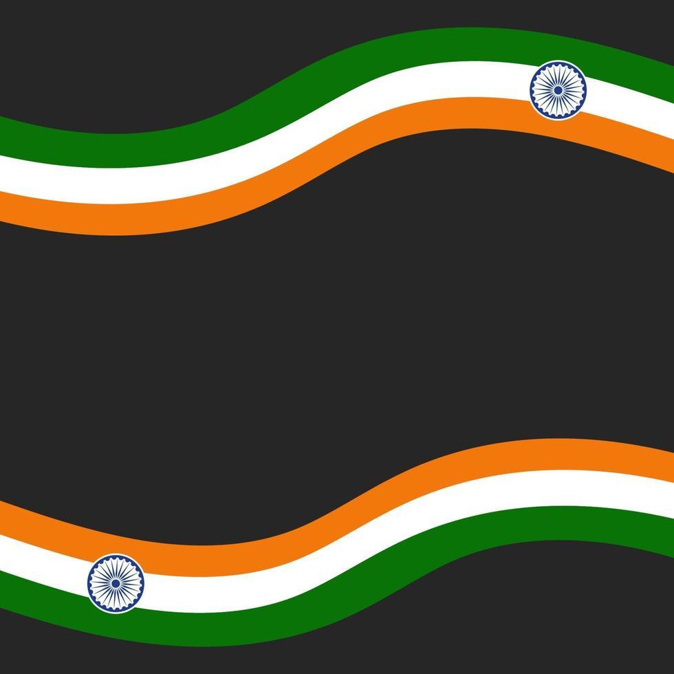 Illustration des glücklichen Tages der indischen Republik vektor