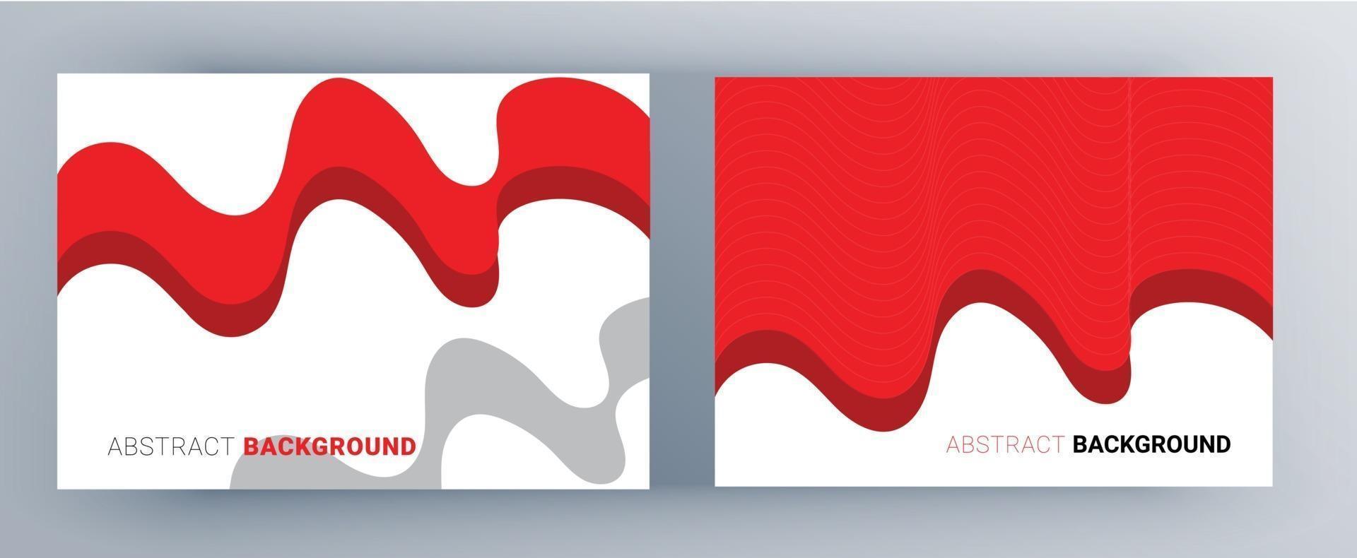 moderner abstrakter Hintergrund für design.red und schwarze Farbe für Flyer, Banner, Buchumschläge vektor