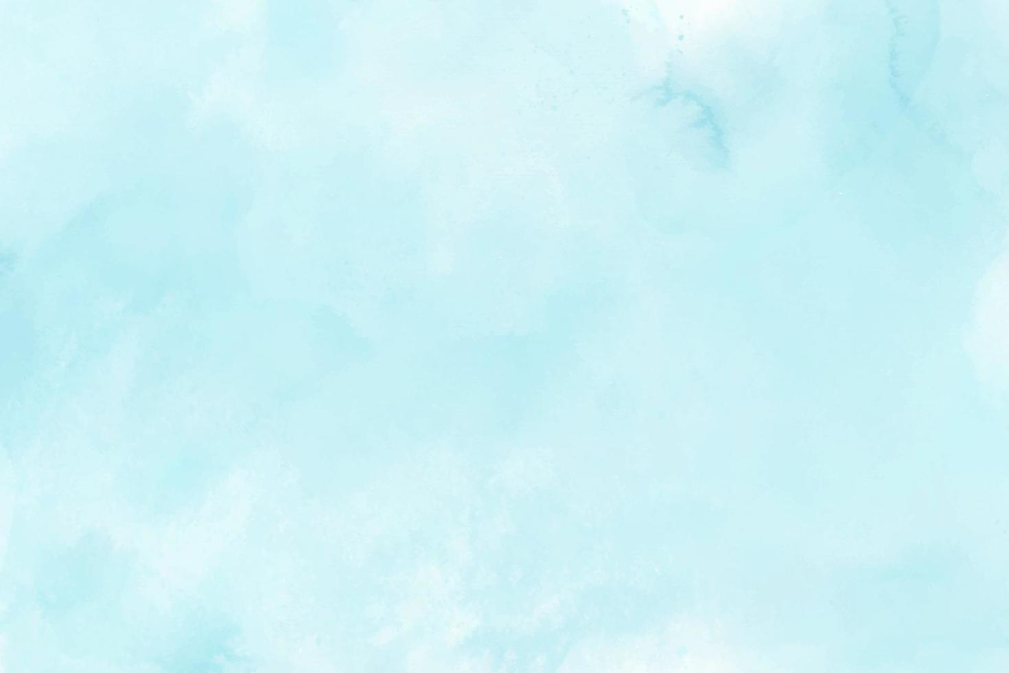 blå mynta akvarell pensel måla vektor bakgrund