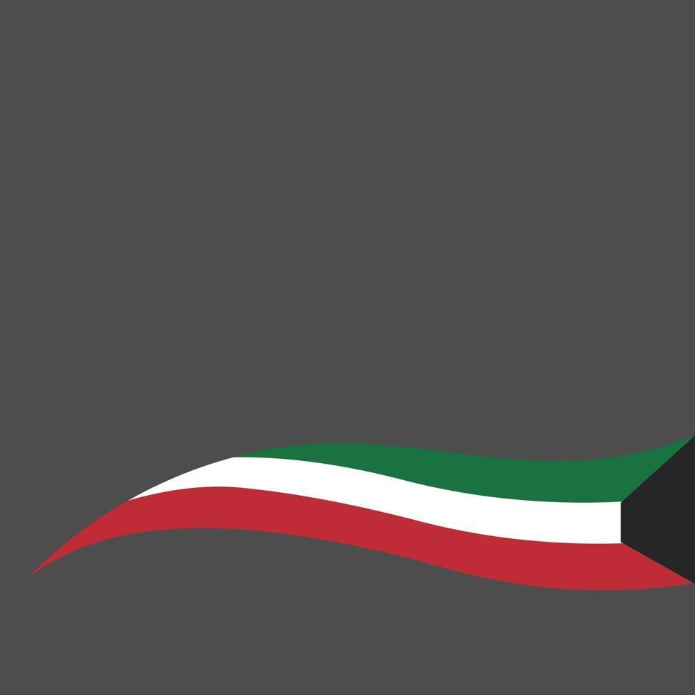 Feier des Nationalfeiertags von Kuwait vektor
