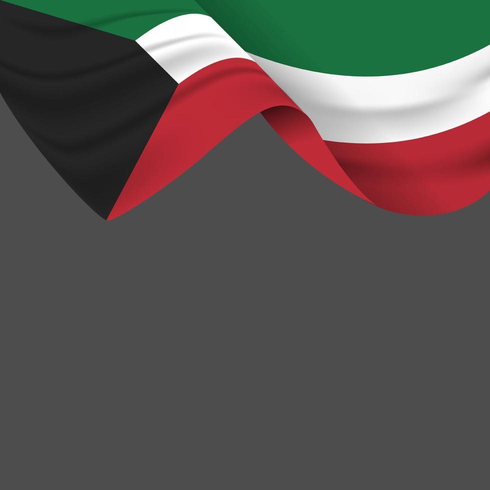 firandet av Kuwaits nationaldag vektor