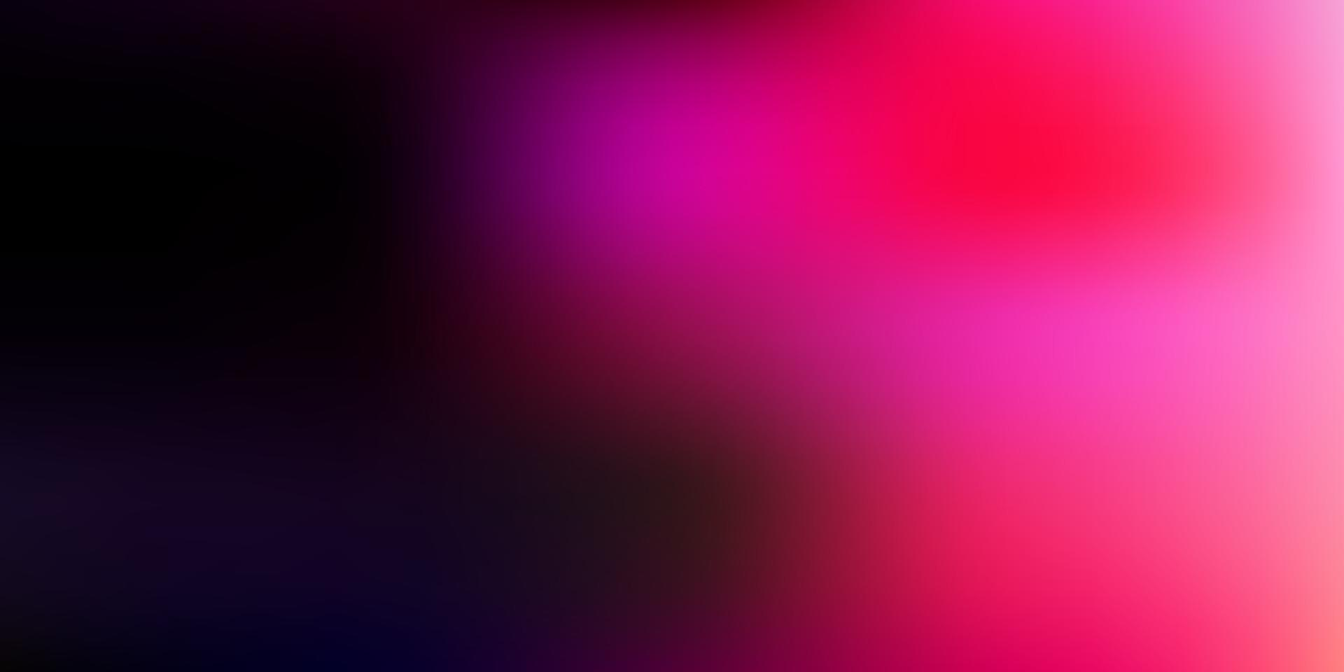 mörk lila, rosa vektor gradient oskärpa mönster.