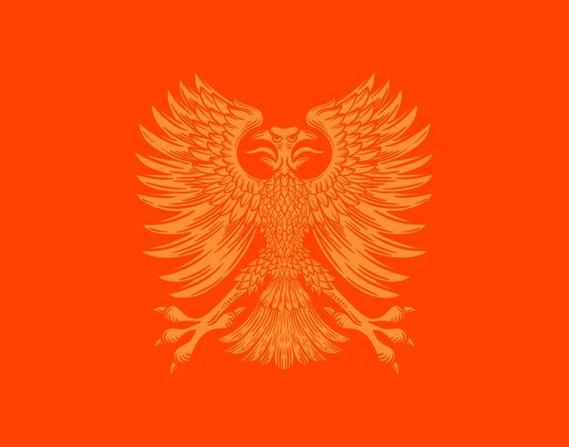 phoenix fågelvapensköld vektor
