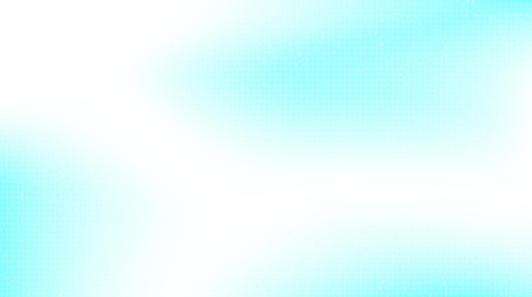 ljusblå teknikbakgrund, högteknologisk digital och säkerhetskonceptdesign, ledigt utrymme för text i put, vektorillustration. vektor