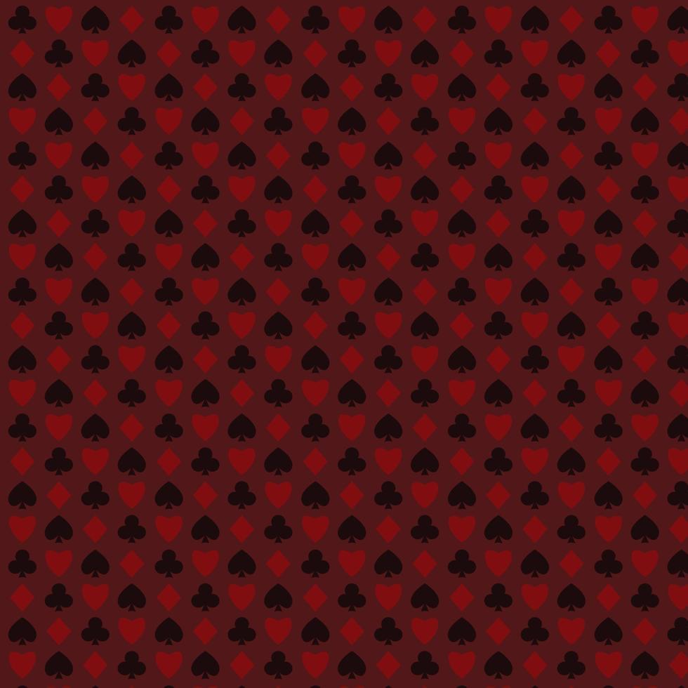 kort symbol mönster vektor