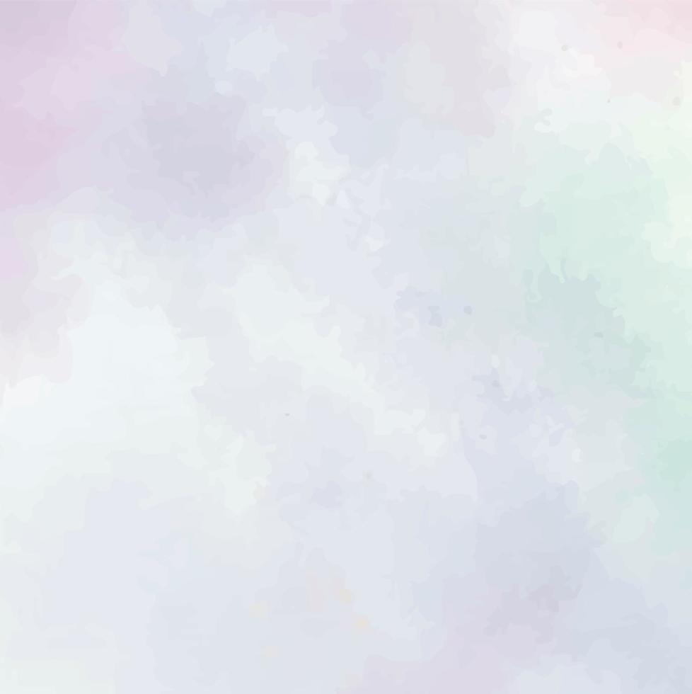 bunte Pastellaquarelldesignhintergrundbeschaffenheit vektor