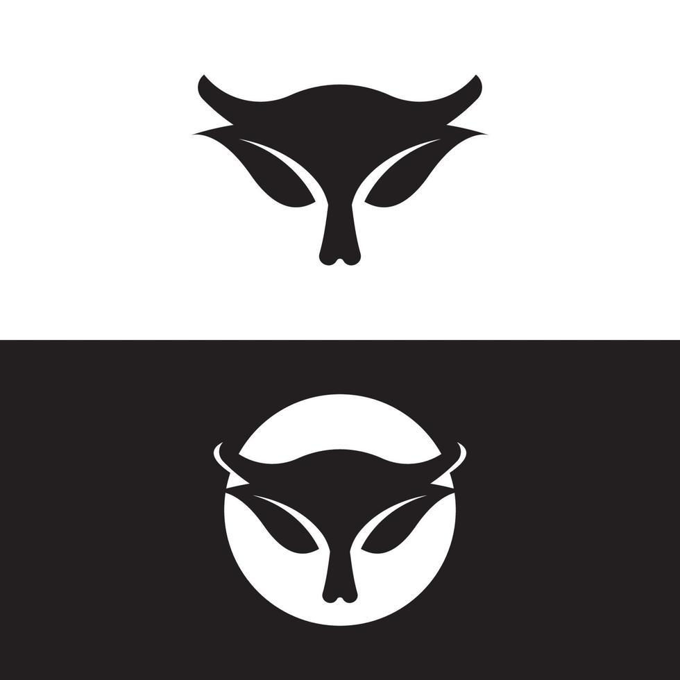 Horn Logo Vorlage Icon Design vektor