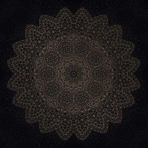 Dekoratives Mandaladesign vektor
