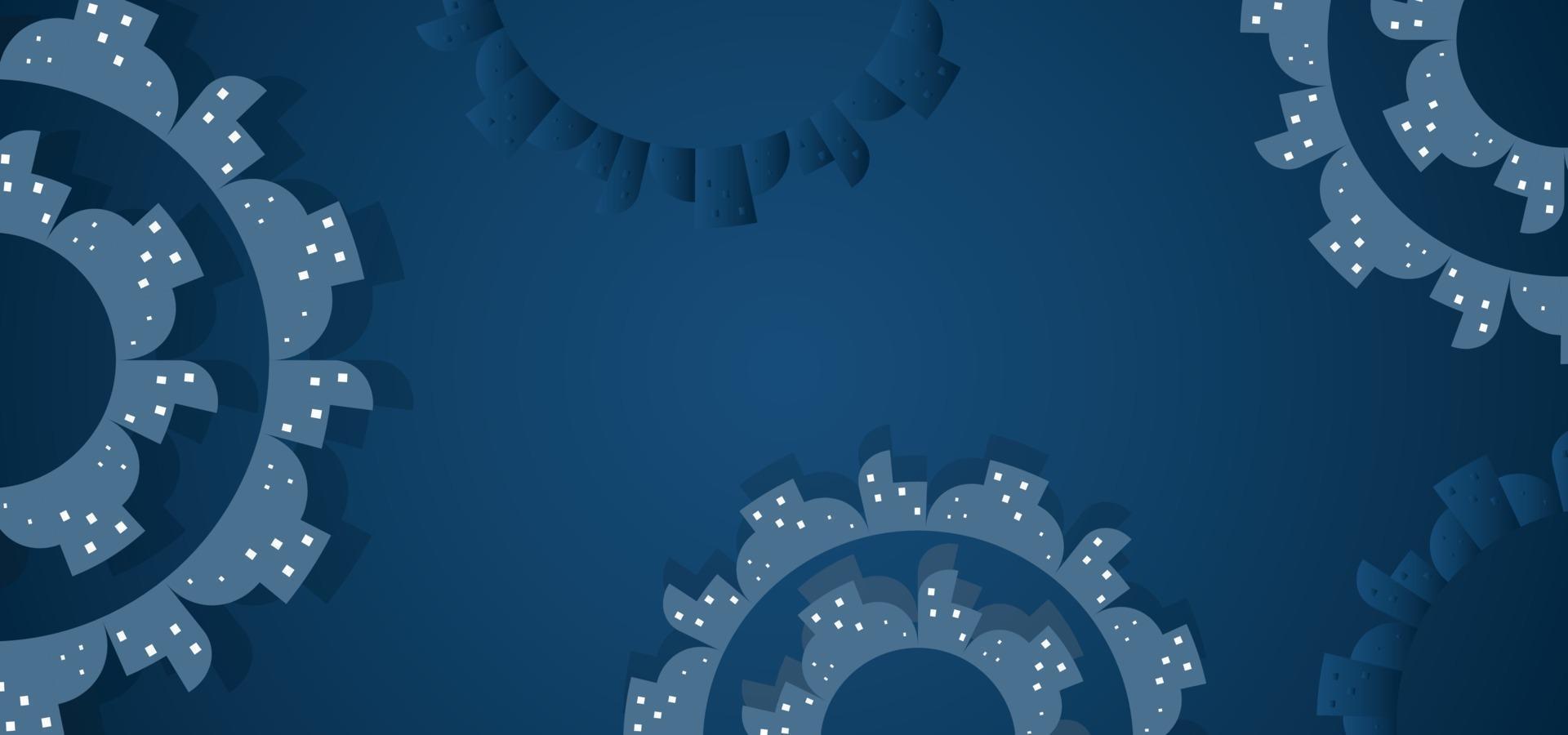 moderner geometrischer schöner Hintergrund oder Fahne vektor