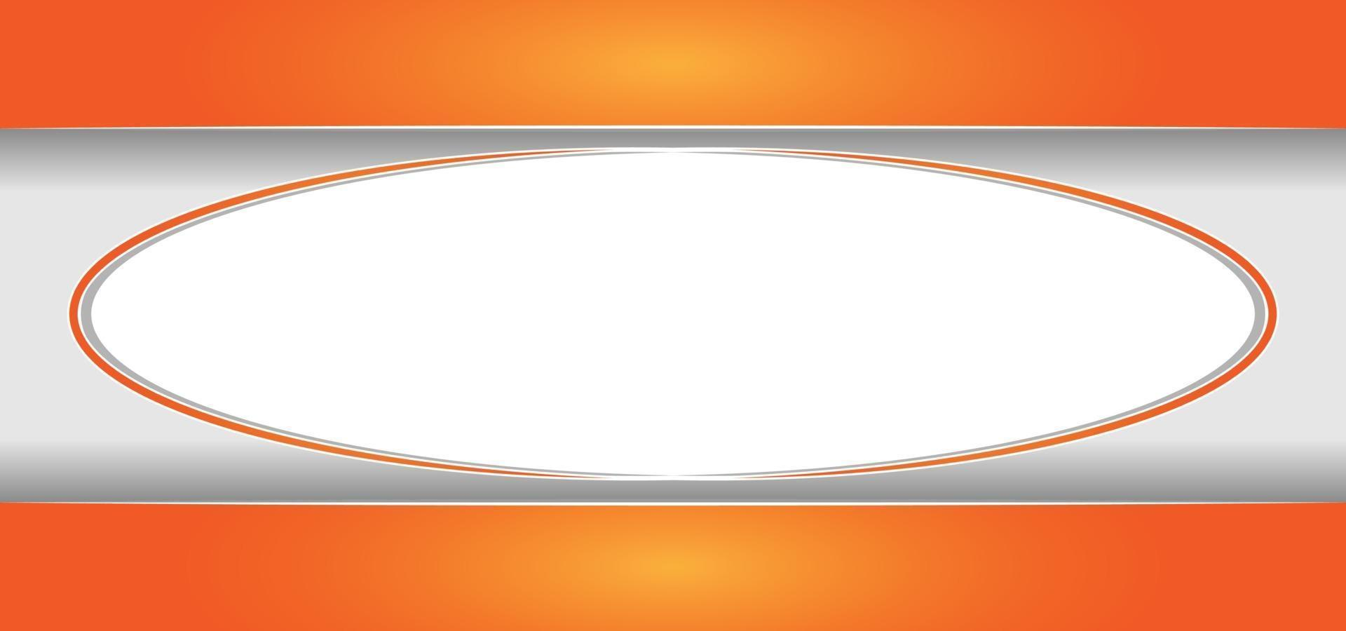 abstrakter orange Rahmen oder Hintergrund vektor