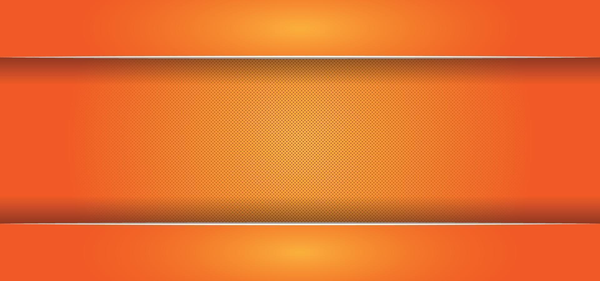 orange glänzender schöner Hintergrund oder Fahne vektor