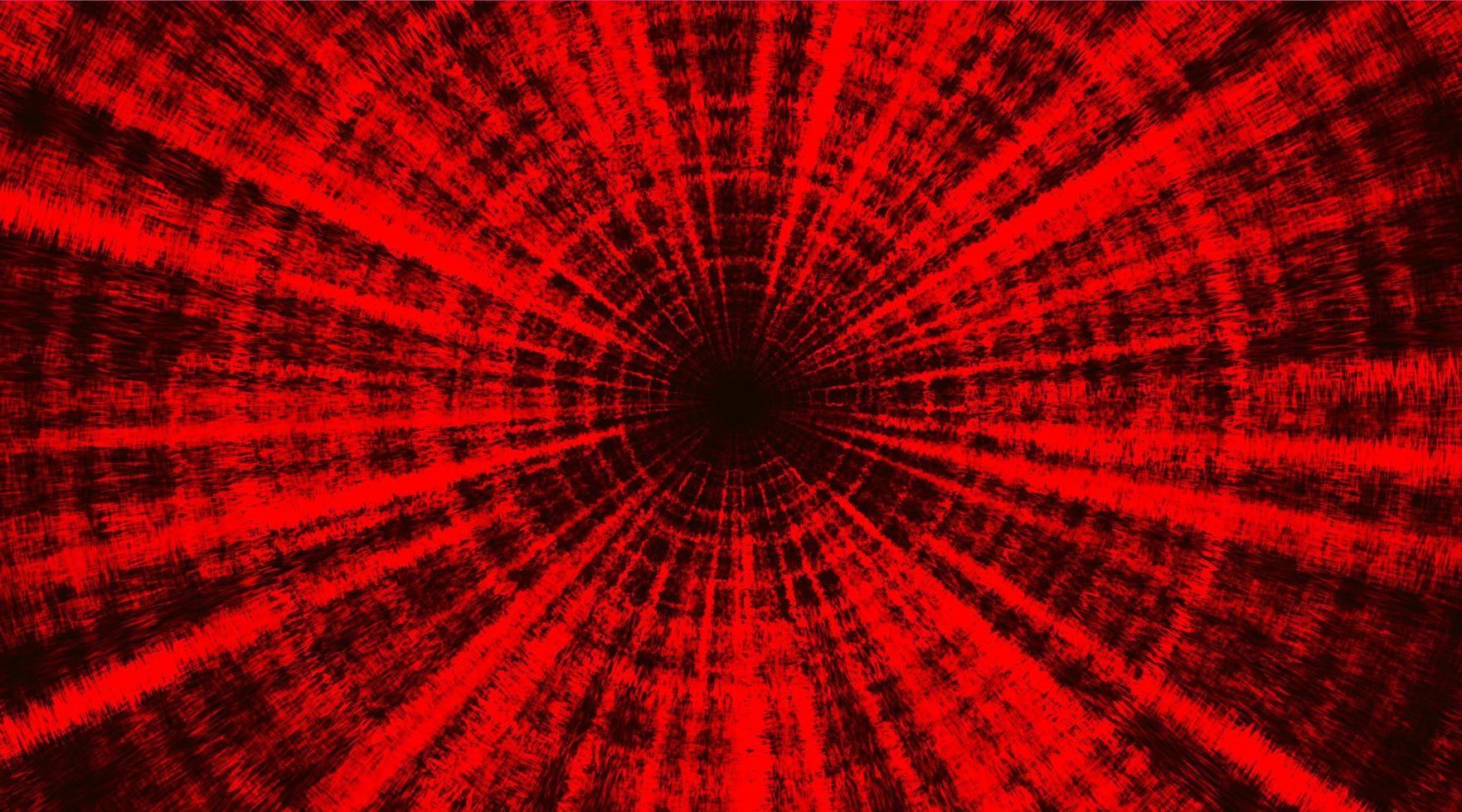 superhastighet röd teknik vektor