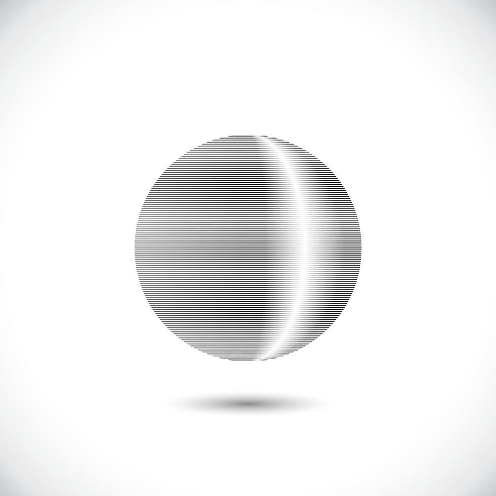 koncentriska cirkelelement. element för grafisk webbdesign, mall för tryck, textil, inslagning, dekoration - vektorillustration vektor