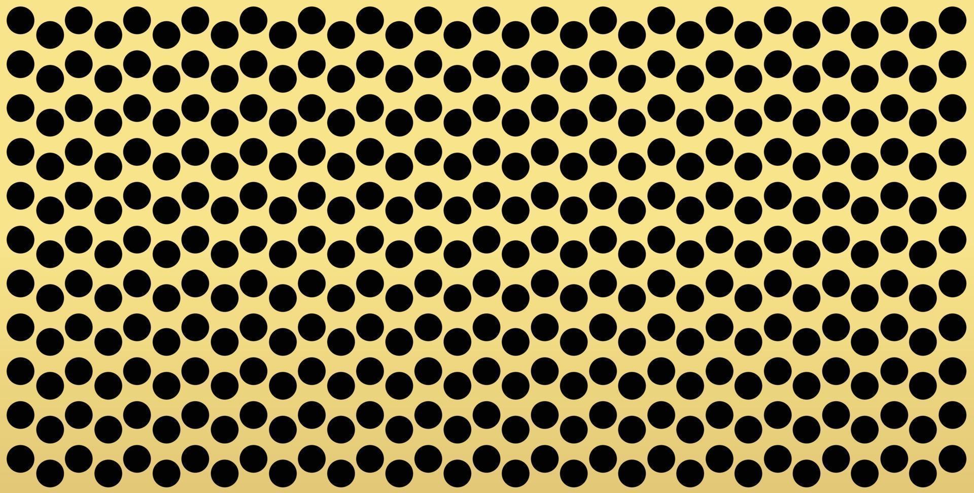 guld prickar mönster, färgstark bakgrund - vektor abstrakt bakgrund