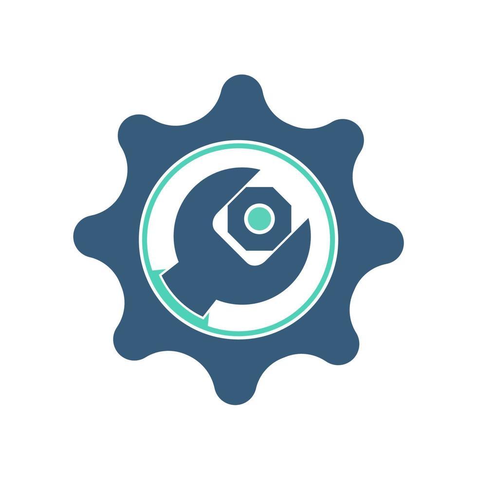 ikon för serviceverktyg vektor